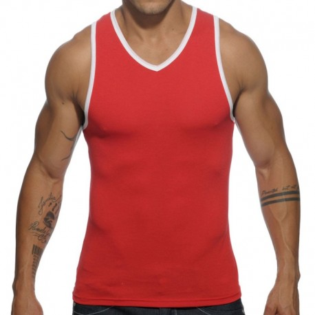 Addicted Basic Colors Tank Top - Red
