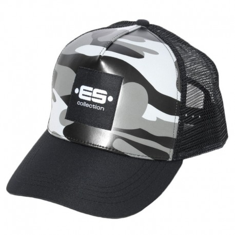 ES Collection Camouflage Cap - Grey