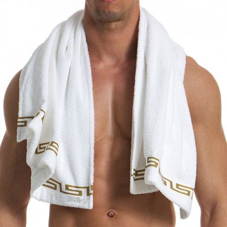 Modus Vivendi Meander Towel - White