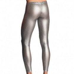 M702 Tight Leggings - Silver