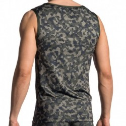 RED 1706 Tank Top - Camouflage