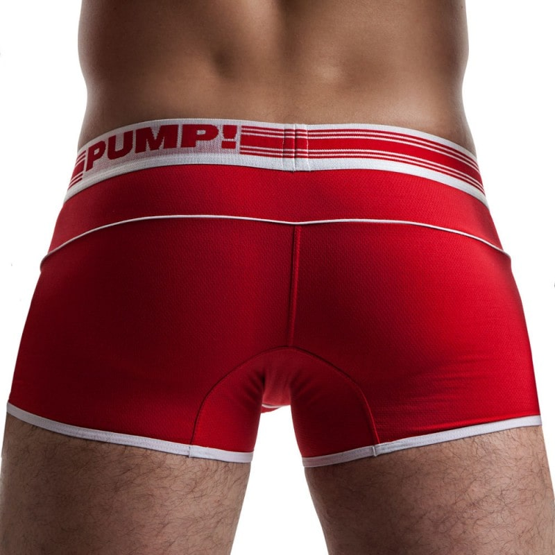 Pump! Boxer Free-Fit Rouge