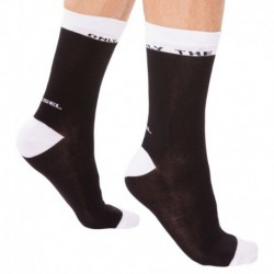 Chaussettes Only The Brave  Noires