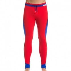 Dali Leggings - Royal - Red