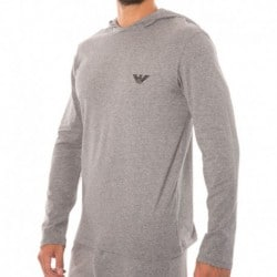 Sweat-Shirt Hoody Hologram Eagle Gris Foncé