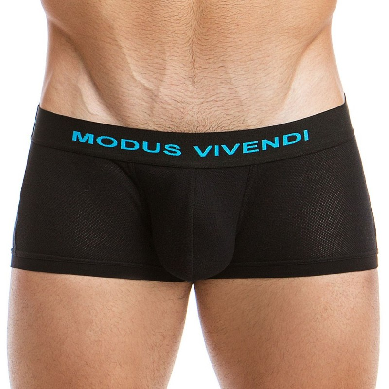 Modus Vivendi Lot de 2 Shorties Blanc - Noir