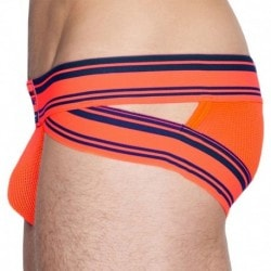 Scrimmage Brief - Neon Orange
