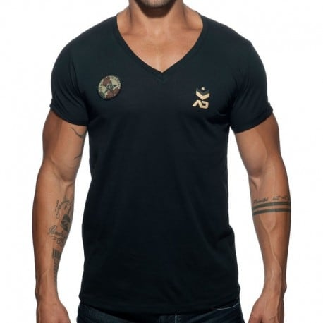Addicted T-Shirt Military Noir