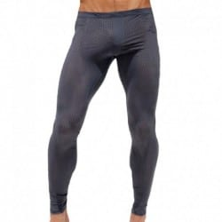 Grid Legging Pants - Lead
