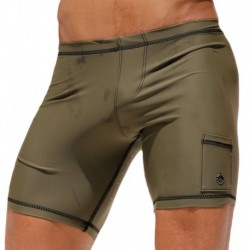 Liner Cycle Short - Olive