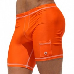 Short Cycliste Liner Orange