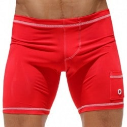 Short Cycliste Liner Rouge