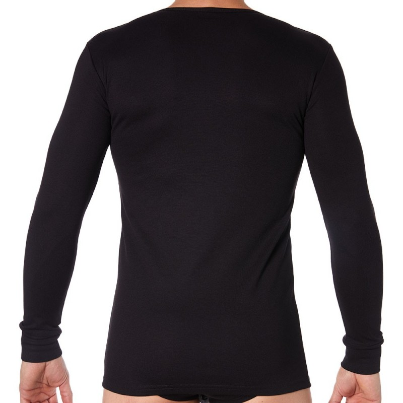 Doreanse Thermal T-Shirt - Black