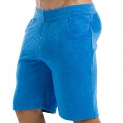 Neon Sweat Shorts - Aqua
