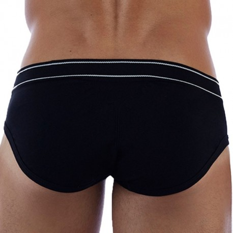 D.Hedral Ace Brief - Black