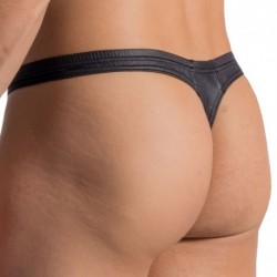 RED 1763 Mini Thong - Black