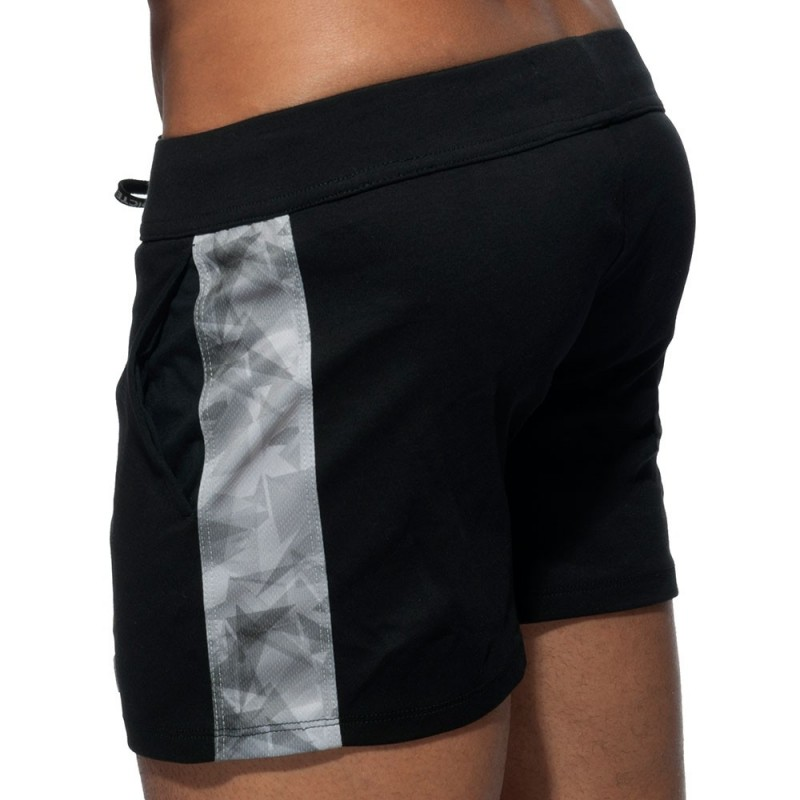 Addicted Short Sport Geoback Noir
