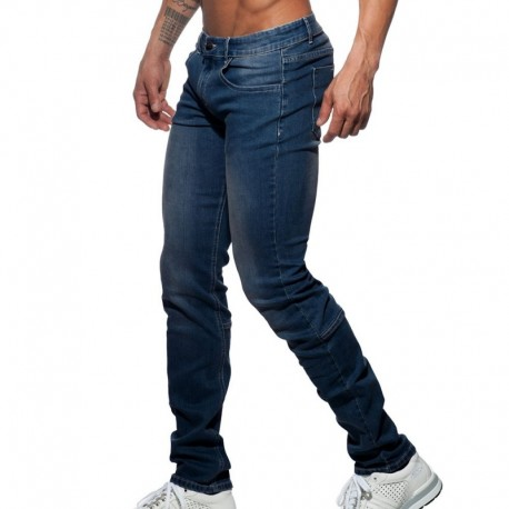 Addicted Pantalon Jeans Basic Marine