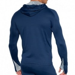 Sweat-Shirt Tech Metallic Marine