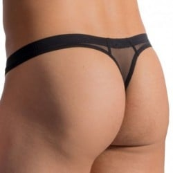 RED 1762 Mini Thong - Black
