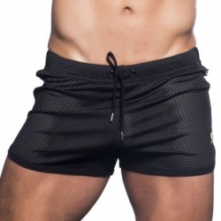 Short Jogger Sports Mesh California Noir