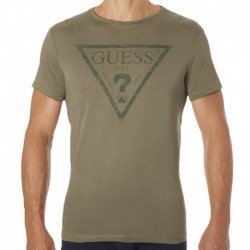 T-Shirt Guess? Kaki