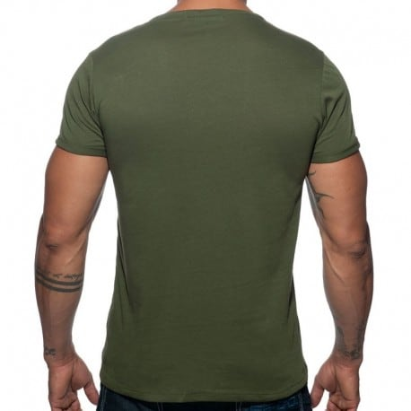 Addicted Military T-Shirt - Khaki