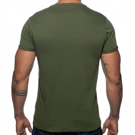 Addicted T-Shirt Military Kaki
