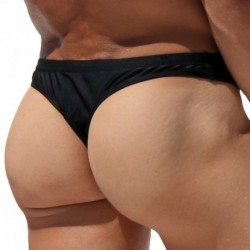 Petey Swim Thong - Black