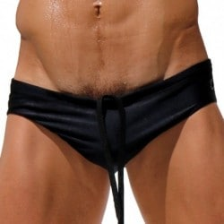 Voyeur Swim Brief - Black