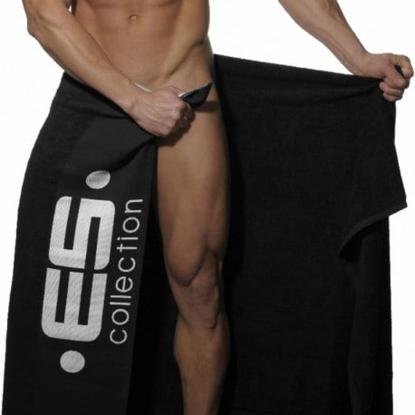 ES Collection Drap de Bain Noir