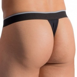 RED 1766 Tanga Thong - Black