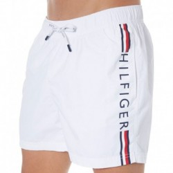 Logo Swim Short - White