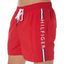 Logo Swim Short - Red