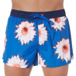 Tropical Swim Short - Blue