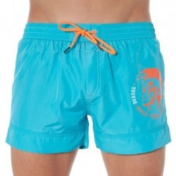 Fold And Go Swim Short - Turquoise