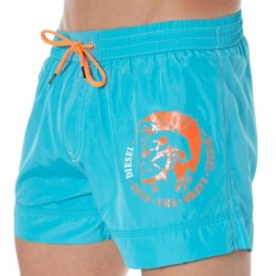 Short de Bain Fold And Go Turquoise
