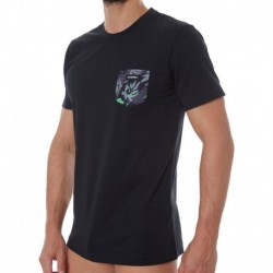 Camouflage T-Shirt - Black