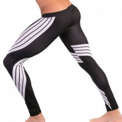 Stanley Tight Leggings - Black - White