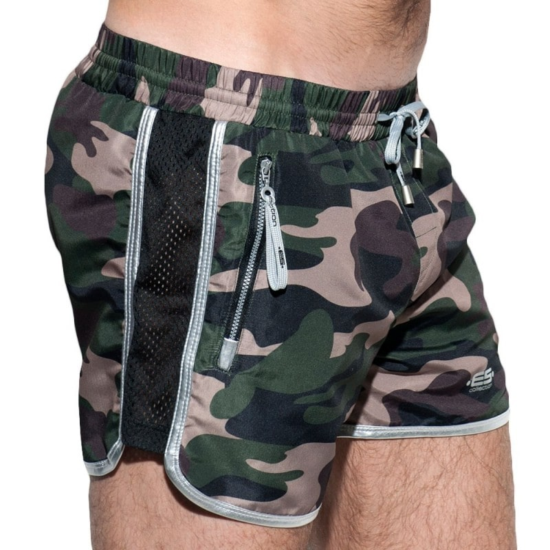 ES Collection Short de Bain Marvin Camouflage