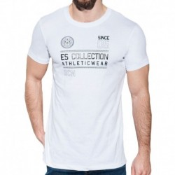 T-Shirt Athletic Blanc