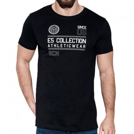 ES Collection T-Shirt Athletic Noir