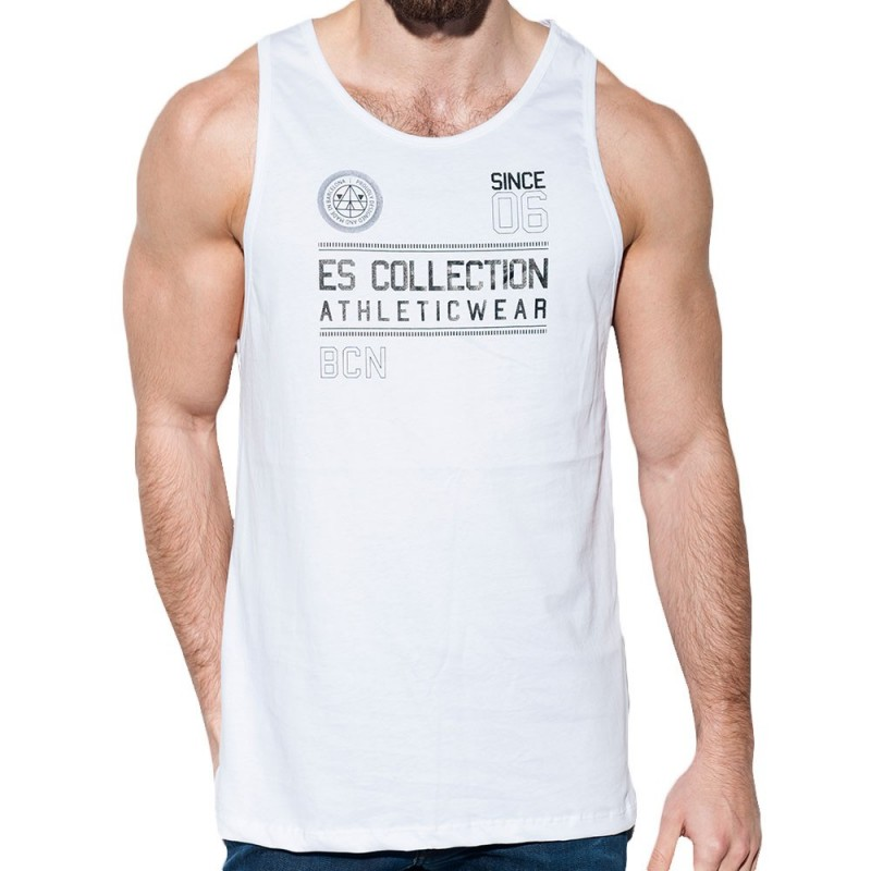 ES Collection Débardeur Athletic Blanc