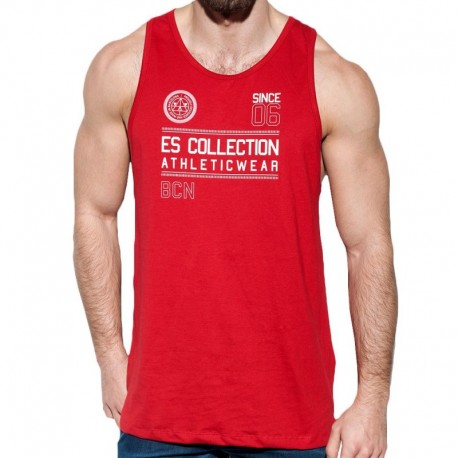 ES Collection Débardeur Athletic Rouge