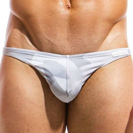 Modus Vivendi Desert Low Cut Swim Brief - Grey