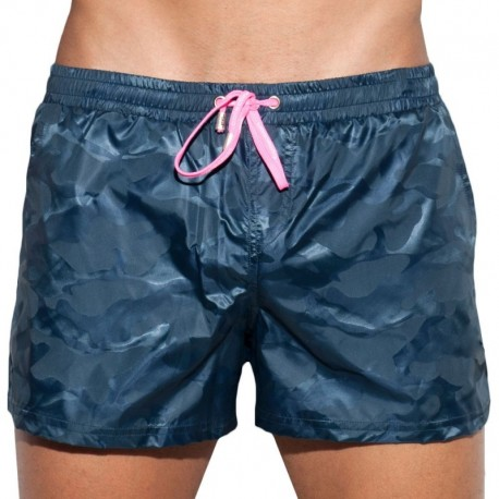 ES Collection Short de Bain Elliot Camo Marine