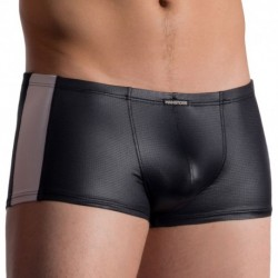 M758 Micro Pants Boxer - Black - White