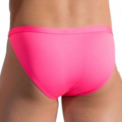 BLU 1658 Beachtanga Swim Brief - Neon Pink
