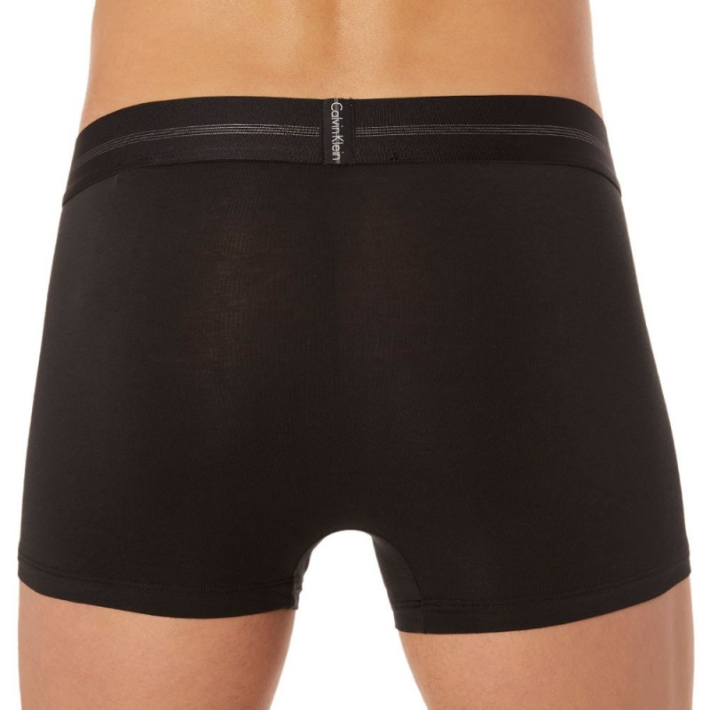Calvin Klein Boxer Focused Fit Cotton Noir