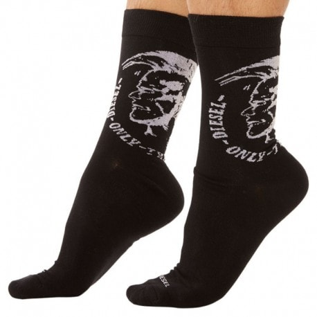 Diesel 3-Pack Mohawk Socks - Black